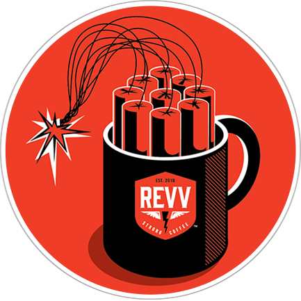 Revv strong coffee